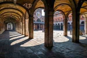 Le Campo San Giacomo de Rialto dans le Sestier de San Polo à Venise pendant le confinement du Covid-19