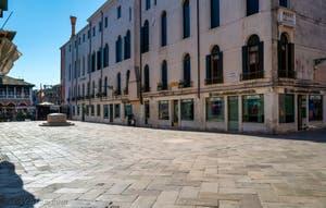 Le Campo Santa Sofia dans le Sestier du Cannaregio à  Venise