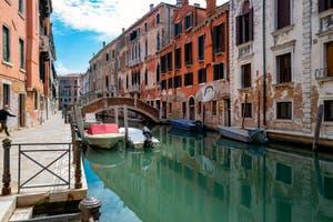 La Fondamenta et le Rio de San Severo dans le Sestier du Castello à Venise