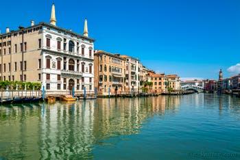 il Canal Grande di Venezia durante il lockdown del Covid-19 a Venezia all primavera 2020
