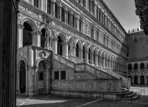 L'escalier des Géants du Palais des Doges de Venise.