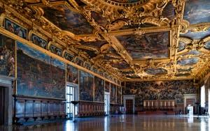 La Salle du Grand Conseil du Palais des Doges