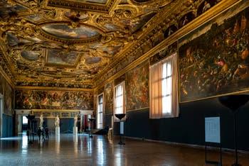 La Salle du Scrutin du Palais des Doges de Venise.