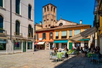Le Campo Santa Sofia dans le Sestier du Cannaregio à Venise.