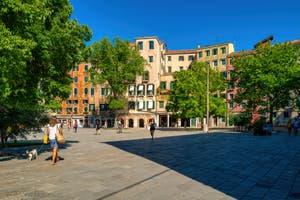 Le Campo de Ghetto Novo, dans le Sestier du Cannaregio à Venise.