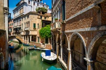 Le Rio et la Fondamenta de Ca' Widmann dans le Sestier du Cannaregio à Venise.