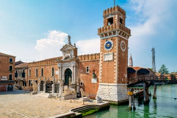 Les lions de l'Arsenal de Venise dans le Sestier du Castello