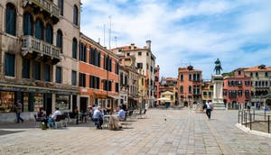 Le Campo San Giovanni e Paolo dans le Sestier du Castello à Venise.