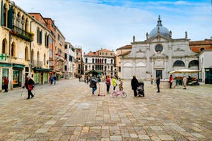 Le Campo Santa Maria Formosa dans le Castello à Venise.