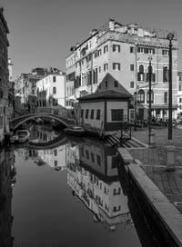 Le Rio del Mondo Novo à côté du Campo Santa Maria Formosa dans le Sestier du Castello à Venise.