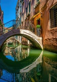 Le Rio de San Zaninovo, le long de la Fondamenta del Remedio, dans le Sestier du Castello à Venise.