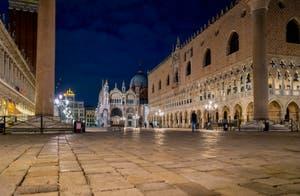 La Piazzetta San Marco avec la basilique Saint-Marc et le Palais des Doges.