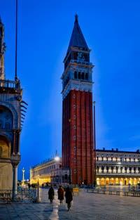 Le Campanile de Saint-Marc à Venise.