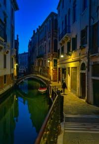 La Fondamenta de la Tetta dans le Sestier du Castello à Venise.