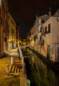 Le Rio de San Felice et le pont Ubaldo Belli dans le Sestier du Cannaregio à Venise.