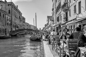 La Fondamenta dei Ormesini et le Rio de la Misericordia dans le Cannaregio à Venise.