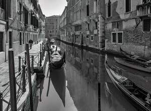 La Fondamenta et le Rio de San Severo dans le Castello à Venise.