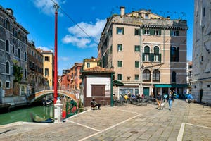 La Fondamenta Santa Maria Formosa dans le Castello à Venise.