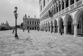 Le Palais des Doges à Saint-Marc à Venise.
