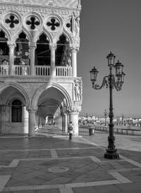 Le palais des Doges et la Piazzetta San Marco à Venise.