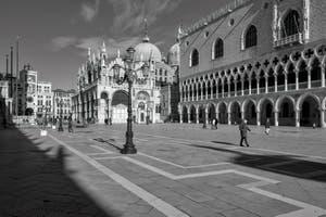 Le Palais des Doges et la Basilique Saint-Marc à Venise.