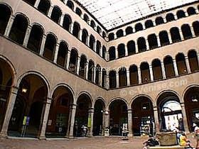 Cour intérieure du Fondaco dei Tedeschi à Venise