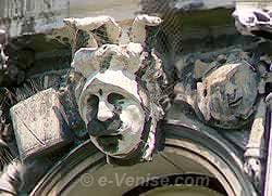 Sculpture du Palazzo Flangini à Venise