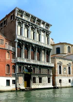 Le Palazzo Flangini sur le Grand Canal