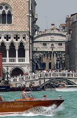 Byron : la Vison Touristique du Pont des Soupirs à Venise