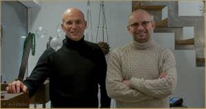 Stefano et Daniele Attombri, créateurs de bijoux vénitiens