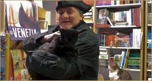 Luigi Frizzo, librairie Acqua Alta, Castello