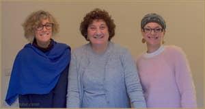 Barbara, Liviana et Agnese de la Luxrest, location d'appartements à Venise en partenariat avec e-Venise