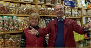 Andrea et Roberta, Pâtes Rizzo, dans le Sestier du Cannaregio à Venise.