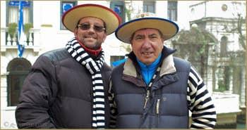 Stefano et Franco, Gondoliers à l'Osmarin et à Santa Maria Formosa, Castello