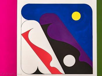 Ad Minoliti, Mural, Biennale d'Art de Venise 2019