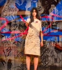 Avery Singer, Self-portrait, à la Biennale d'Art de Venise