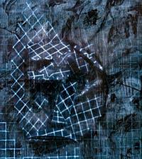 Avery Singer, Sensory Deprivation Tank (sad face), à la Biennale d'Art de Venise