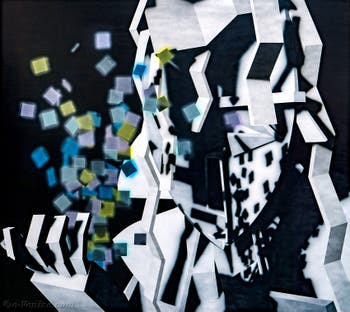 Avery Singer, Untitled (Monday), à la Biennale d'Art de Venise
