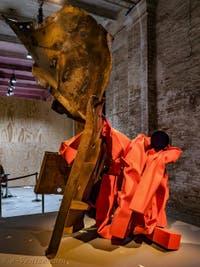 Carol Bove, Ariel, à la Biennale d'Art de Venise