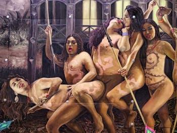 Christian Bendayan, Indios Antropófagos, Indiens Anthropophages, Pavillon du Pérou, Biennale d'Art de Venise