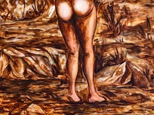 Djorjde Ozbolt, Full Moon Rising, Pavillon Serbe Biennale d'Art de Venise
