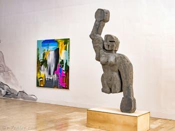 Djordje Ozbolt, Gang of Five I, Pavillon de la Serbie, Biennale d'Art de Venise
