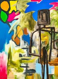Djordje Ozbolt, Like a Walk in the Park, détail, pavillon de la Serbie à la Biennale d'Art de Venise
