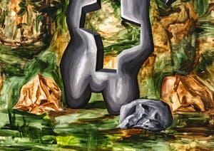 Djordje Ozbolt, Loss, détail, Pavillon Serbe à la Biennale d'Art de Venise