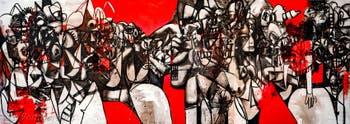 George Condo, Facebook, à la Biennale d'Art de Venise
