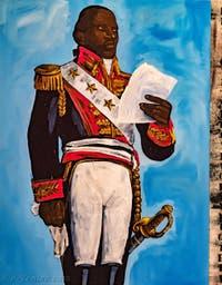 Henry Taylor, Toussaint Louverture, Triptyque, Biennale d'Art de Venise