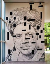 Iris Kensmil,Audre Lorde, The New Utopia Begins Here #2, pavillon des Pays-Bas à la Biennale d'Art de Venise