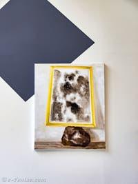 Iris Kensmil, Beyond the Burden of Representation, détail, pavillon des Pays-Bas à la Biennale d'Art de Venise