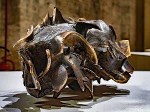Jean Luc Moulène, Cheval Force, à la Biennale d'Art de Venise