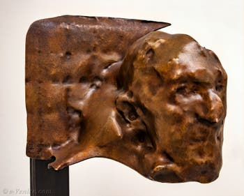 Jean Luc Moulène, Masque Marc Gilbert, à la Biennale d'Art de Venise